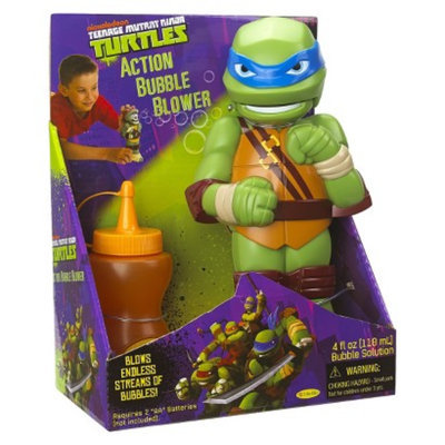 Little Kids TMNT Action Bubble Blower- Leonardo