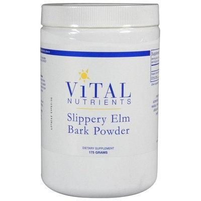 Vital Nutrients, Slippery Elm Bark Powder 175 Grams (for Men and Women)