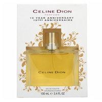 Celine Dion 10 Year Anniversary Eau de Toilette, 3.4 fl oz