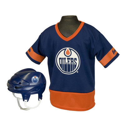 Franklin Sports NHL Edmonton Oilers Kids Team Set