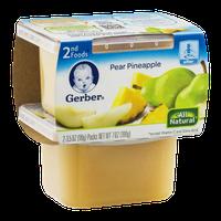 Gerber 2nd Foods Pear Pineapple - 2 CT