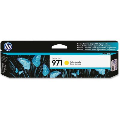 HP CONSUMABLES CN624AM 971 YELLOW INK CARTRIDGE