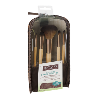 EcoTools Day-To-Night Brush Set - 6 CT