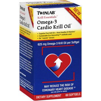 Twinlab Krill Essentials Omega 3 Cardio Krill Oil 625 mg 60 Softgels