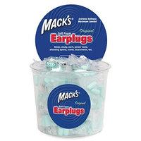 Macks Safesound Original Soft Foam Earplugs, 100-Count