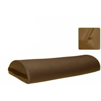 Royal Massage 6 Diameter Deluxe Oversized Massage Table 25 Half Bolster - Espresso