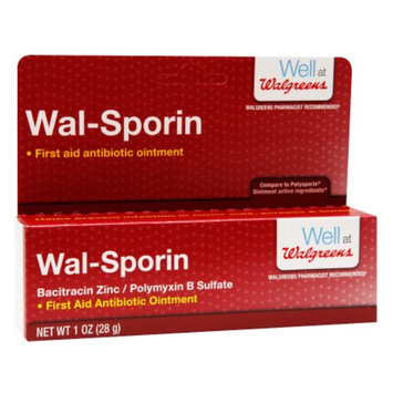 Walgreens Wal-Sporin First Aid Antibiotic Ointment, 1 oz