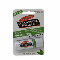 Palmer's Cocoa Butter Formula Moisturizing Lip Balm SPF 15, Dark Chocolate/Mint, .15 oz