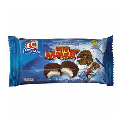 Gamesa Mini Mamut Marshmallow Cookies with Chocolate Coating