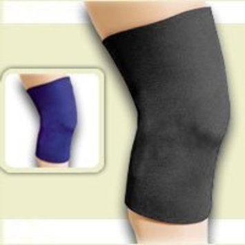 FLA Safe-T-Sport Neoprene Knee Sleeve - Medium Closed Patella - Black - 37-37337-374MDBLK
