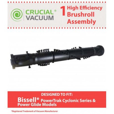Crucial Vacuum High Quality Roller Brush Fits Bissell PowerTrak & Power Glide Vacuum Part # 203-2013
