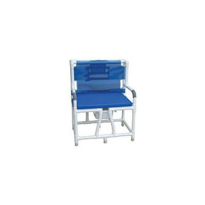 MJM International 130-C10-BCS Bariatric Bedside Commode