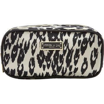 Olivia + Joy Zoom Zoom Duffle Cosmetic Bag Snow Leopard - Olivia + Joy Ladies Cosmetic Bags