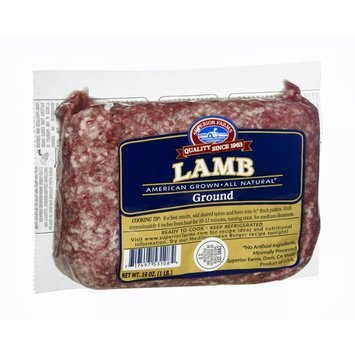 Superior Farms Ground Lamb
