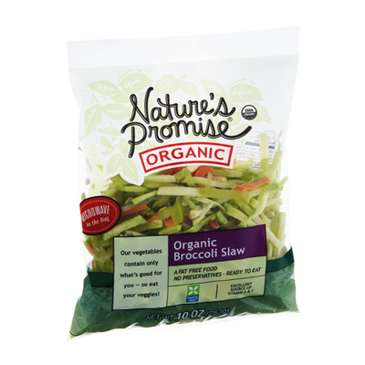 Nature's Promise Organic Broccoli Slaw