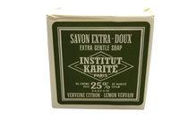 Institut Karite Paris Extra Gentle Soap 25 % Shea Butter 3.4 oz Lemon Vervain