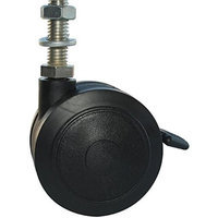 MJM International R-3TW-RP-BRAKE Replacement 3 in. rust proof threaded stem casters