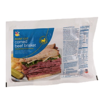Ahold Meat Point Cut Corned Beef Brisket