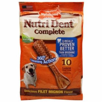 Tfh Publications Nutri Dent Dental Dog Chews Filet Mignon Large