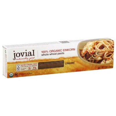 Generic Jovial Whole Wheat Einkorn Linguine Pasta, 12 oz, (Pack of 6)