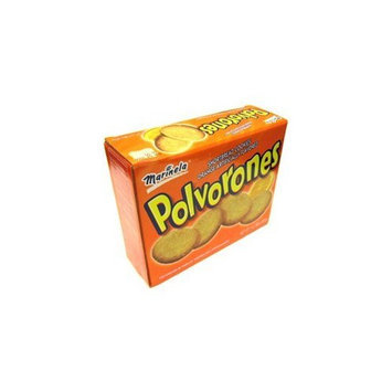 Polvorones Marinela - Shortbread Cookies Orange Flavored 1 lb 7.80 oz