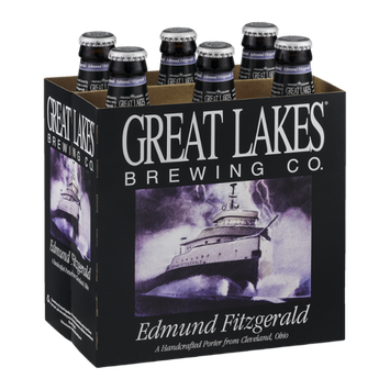 Great Lakes Brewing Co. Edmund Fitzgerald Handcrafted Porter - 6 PK