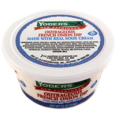 Yoders Outrageous Onion Dip