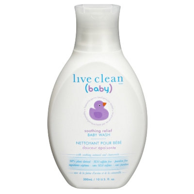 Live Clean Baby Soothing Relief Wash