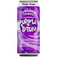 Purple Stuff Grape Classice Beverage, 16-Ounce (Pack of 12)