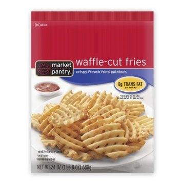 Market Pantry Waffle-Cut Fries 24-oz.