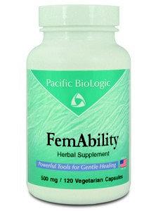 Pacific Biologic FemAbility 120 vcaps