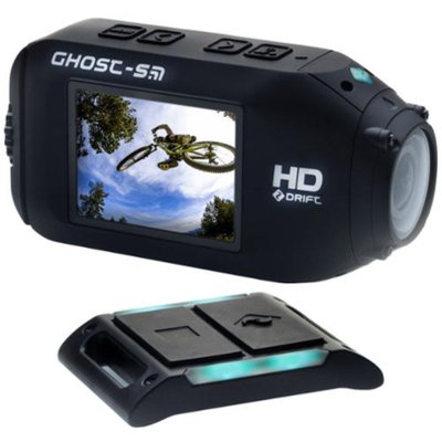 Drift Innovation HD Ghost-S Wi-Fi Waterproof Digital Video Action Camera Camcorder
