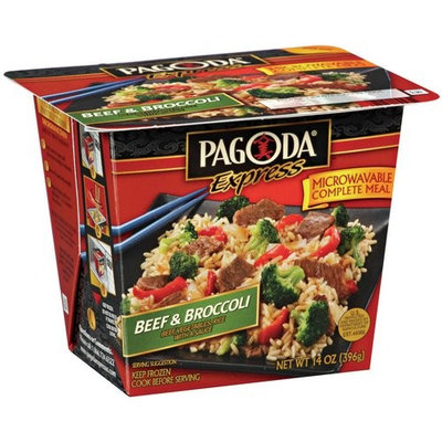 Pagoda Express Complete Meal Beef & Broccoli, 14 oz