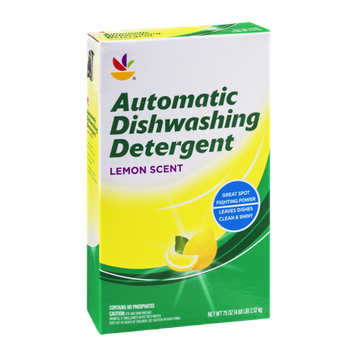 Ahold Automatic Dishwashing Detergent Lemon Scent