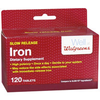 Walgreens Iron Slow Release Tablets