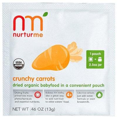 NurturMe Crunchy Carrots Dry Baby Food - 8 pk