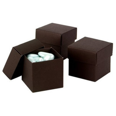 Hortense B. Hewitt Espresso Mix & Match Favor Boxes - 25ct