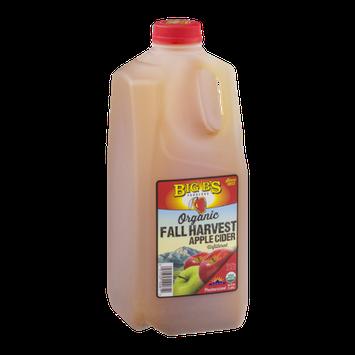Big B's Organic Fall Harvest Apple Cider Unfiltered
