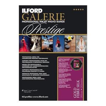 Ilford GALERIE Prestige Gold Fibre Silk Inkjet Paper, 310 gsm, 8.5x11