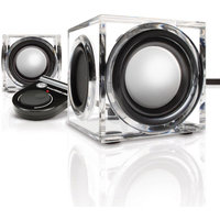 Gogroove GOgroove SonaVERSE CRS Portable Computer Speakers with Universal USB Power, Dual Drivers and Onboard Volume Control for Laptop and Desktop Computers