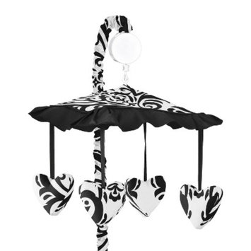 Jo Jo Designs Black and White Isabella Musical Mobile