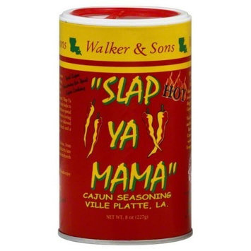 Slap Ya Mama Hot Blend, 8-Ounce Canisters (Pack of 12)
