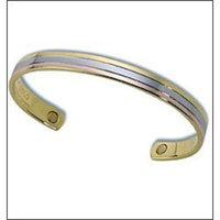Stylish Tricolor Copper Magnetic Bracelet