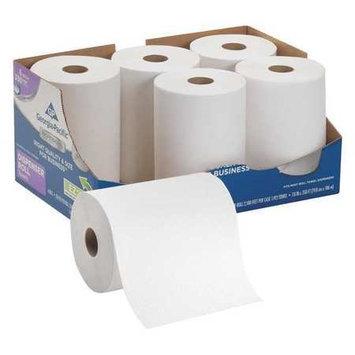 Georgia Pacific GEORGIA-PACIFIC 2170114 Go Pro Paper Towel Roll, Hardwound, PK6