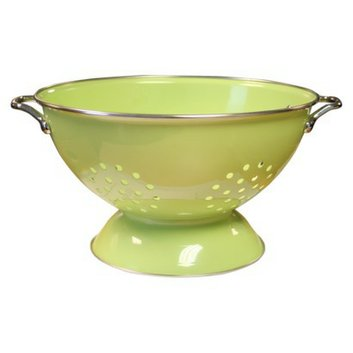 Reston Lloyd Enamel/ Stainless Steel Colander - Lime (5-qt.)