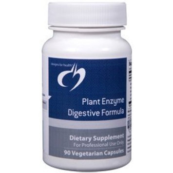 Designs for Health - Plant Digestive Enzyme Formula 90 vcaps