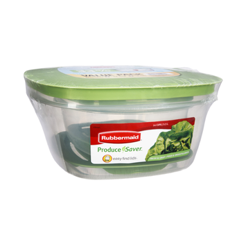 Rubbermaid Produce Saver Value Pack Food Containers - 2 PC