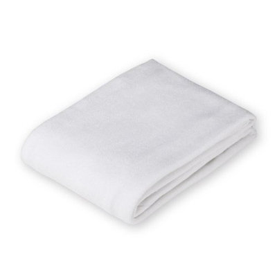 American Baby Company Cotton Terry Flat Fitted Changing Pad Cover, White (Older Version)