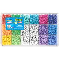 The Beadery Giant Bead Kit 2000 Beads/Pkg Alphabet
