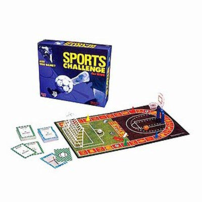 Sports Challenge for Kids A Game for Kids Who Love Sports, 1 ea